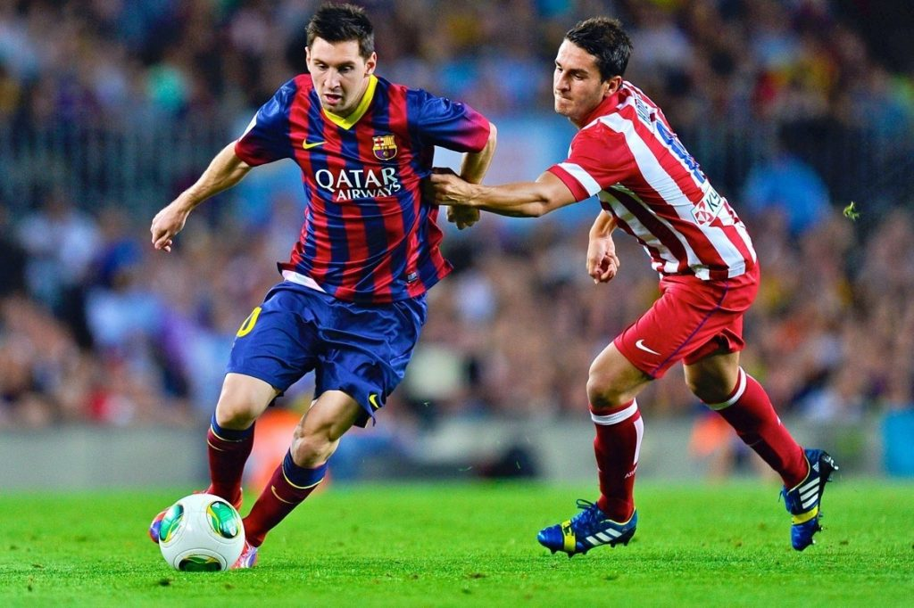 Messi vs atletico