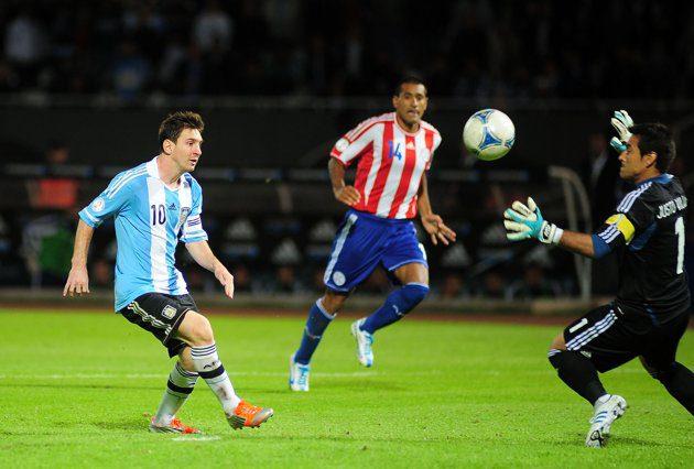 Argentina-v-Paraguay