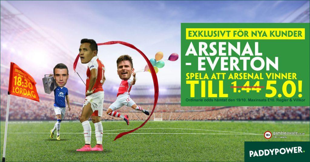 Arsenal Everton kampanj
