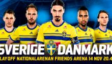 När-spelar-Sverige-mot-Danmark-EM-playoff-datum-här