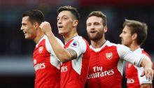 Arsenal Granit Xhaka, Mesut Özil, Shkodran Mustafi, Nacho Monreal