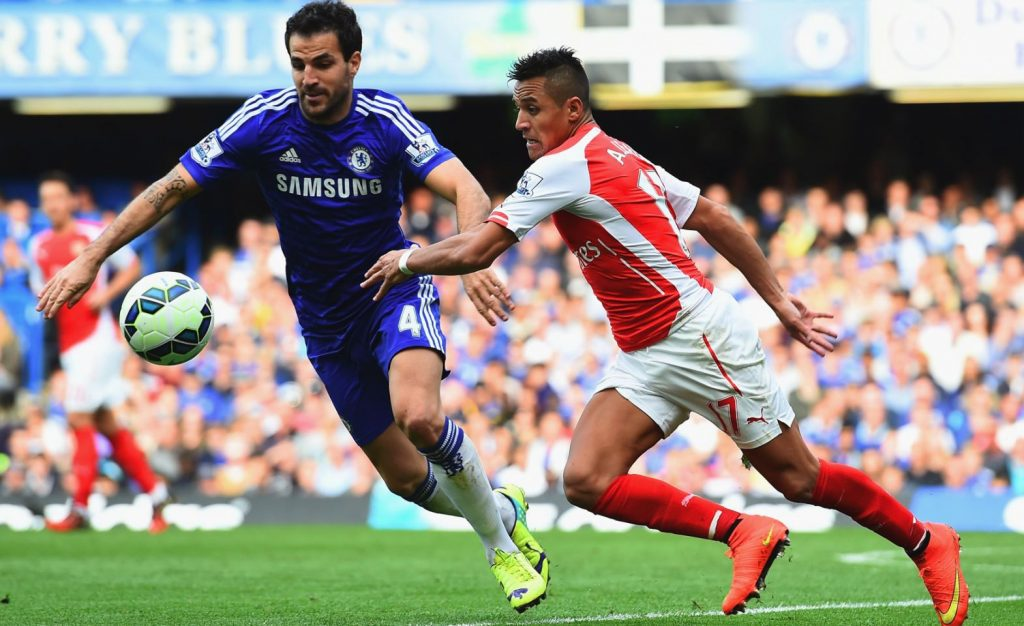 Chelsea Arsenal Cesc Fabregas Alexis Sanchez