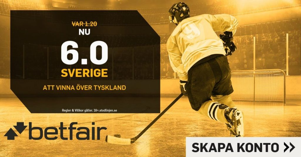 tre kronor boostade odds betfair
