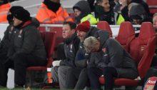 Arsenal fotboll bänken