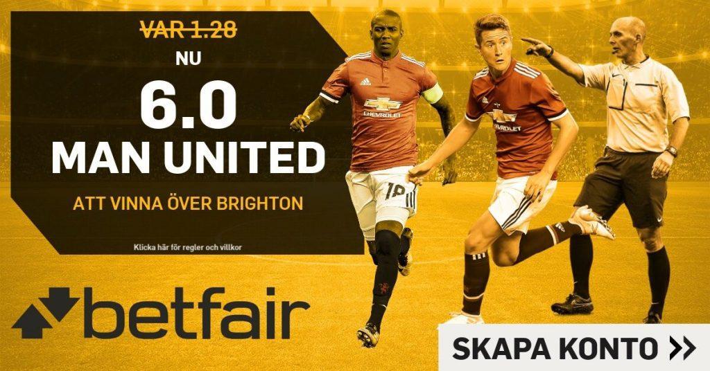united-brtighton boostade odds betfair