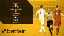 betfair boostade odds real madrid liverpool