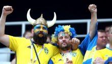 fotbolls vm 2018 svenska fans