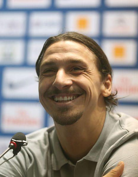 Zlatan är glad