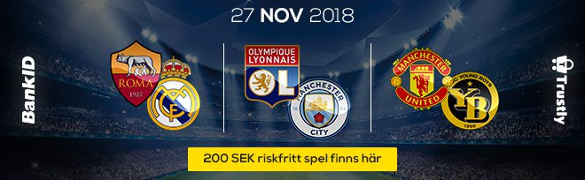 Champions league 27:e Nov