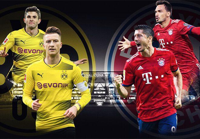 Dortmund Bayern 10 nov