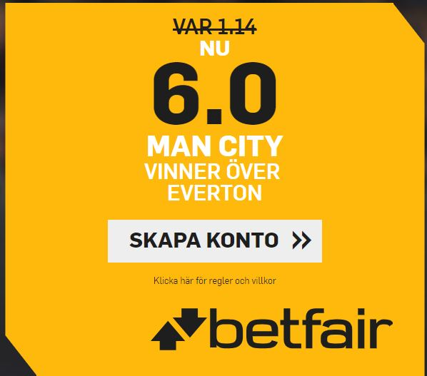 betfair betting Manchester City offer