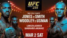 UFC 235 2/3