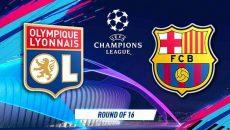 Barcelona - Lyon CL FEB