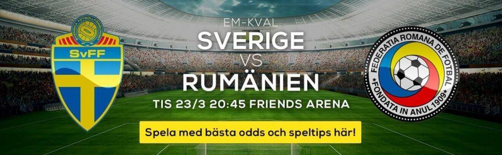 Em kval Sverige -Rumänien
