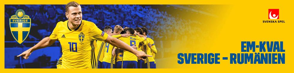 Em kval Sverige - Rumänien