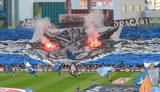 Porto fotboll fans