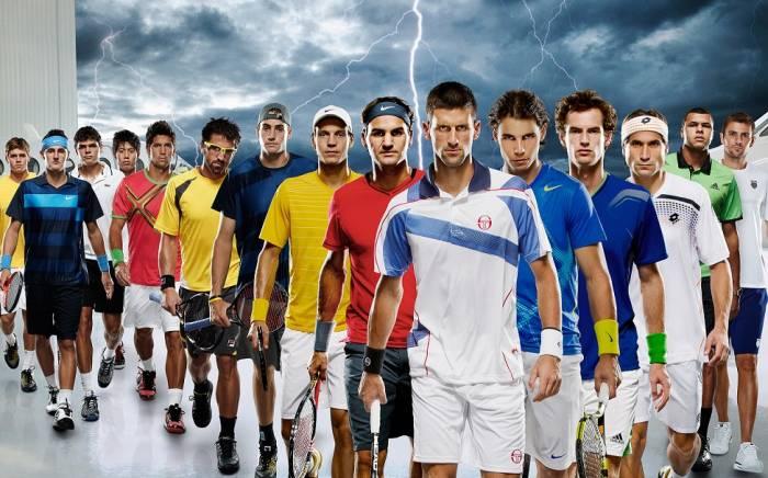 Tennis pro spelare