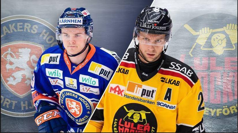 luleå växjö SHL hockey