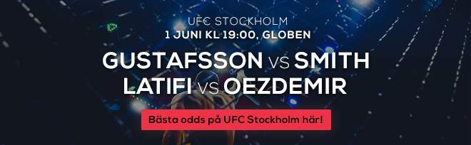 UFC fight night stockholm
