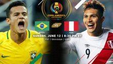 Copa America Brasil - Peru
