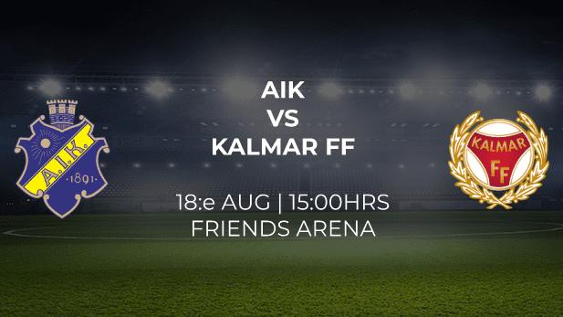 AIK Kalmar Friends Arena