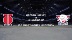 Örebro - Linköping försäsongen SHL