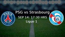 PSG -Strasbourg Ligue 1