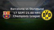 Barcelona - Dortmund CL