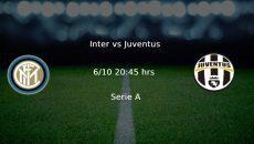 Inter vs Juventus Serie A