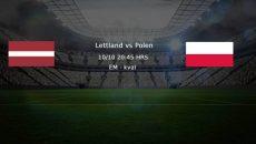 Lettland vs polen