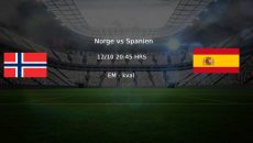 Norge - Spanien EM-kval