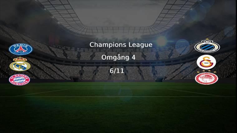 Champions League klubblogos omgång 4