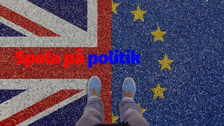 Brittiska flaggan med fötter