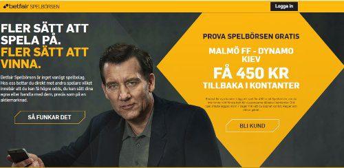 Europa League Malmö FF - Dynamo Kiev