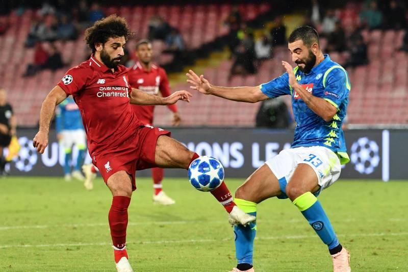 Liverpool vs Napoli 27/11-19