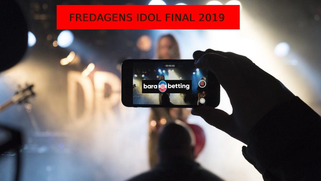 Idol 2019 odds och fredagsfinal