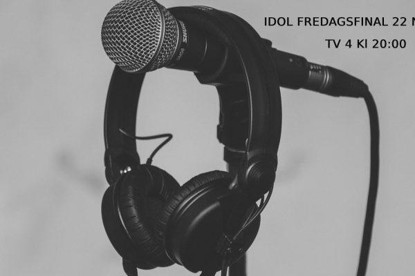 Idol odds 2019 fredagsfinal 22 nov barabetting