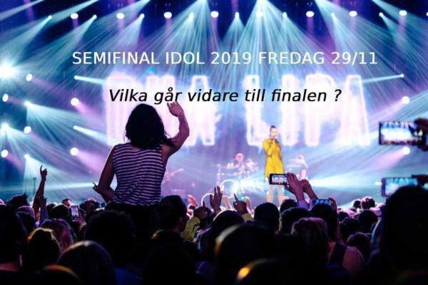 odds Idol 2019 semifinal