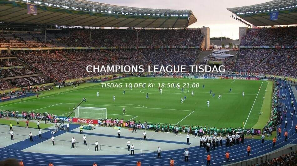 champions league 9 dec