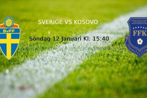 Sverige vs Kosovo