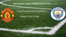 United vs city semifinal 1 engelska cupen