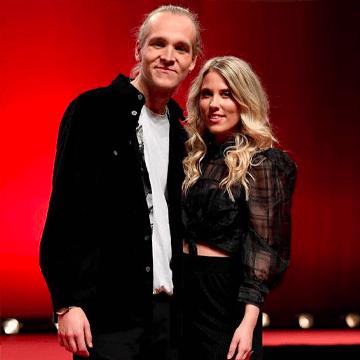 Ellen Benediktson och Simon Peyron mello 2020