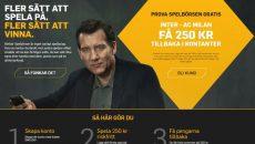 inter - milan Serie A - Betfair spelbörsen