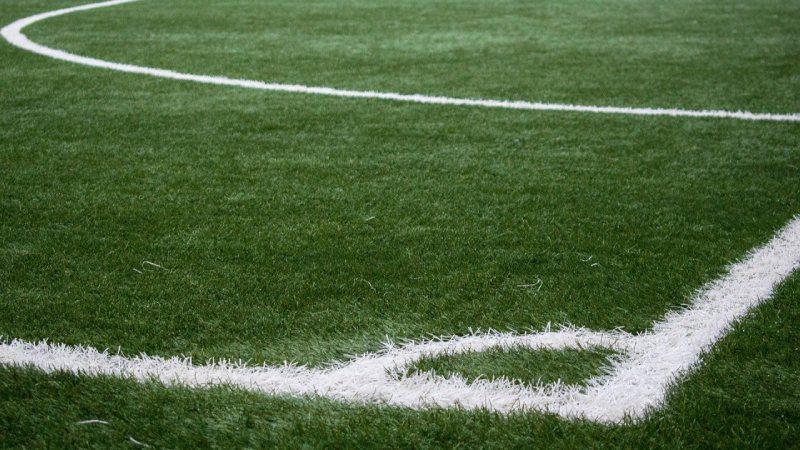 Linjer på fotbollsplan